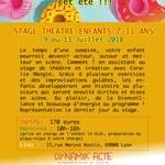 stage théâtre 7-11 ans -Lyon 8