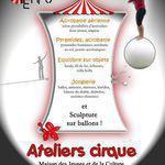 Intervenante cirque - Cours d'initiation aux arts du cirque