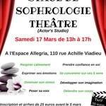 Stage de sophrologie- Théâtre (Actor's Studio)
