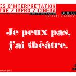 Stages d'été Théâtre Impro et Cinéma à Grenoble