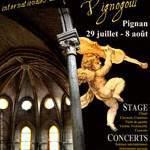 Les Rencontres internationales de l'Abbaye de Vignogoul