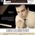 "Concert ""Kimball Gallagher pianiste"""