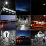 Balade photos de nuit à Angers