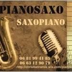 """Duo """"PianoSaxo"""" - Un Pianiste & un Saxophoniste musique Live Jazz et Variété"""