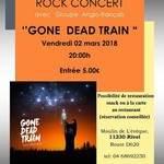 Gone Dead Train concert