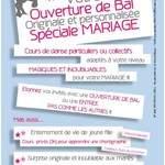 Sensacion Bachata - Cours de dannse mariage - ouverture de bal Bas Rhin