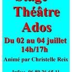 Stage Théâtre Ados