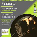 Cie Joseph Aka - Cours de danse afro-contemporaine