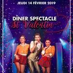 Dîner spectacle Saint Valentin Cabaret Le Pâtis
