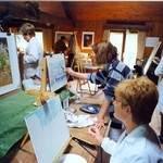 Cours de peinture dans l'Eure