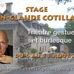 JEAN-CLAUDE COTILLARD Théâtre gestuel et burlesque