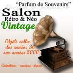 Parfum de souvenir salon rétro néo vintage