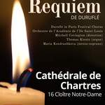 REQUIEM de Duruflé à la Cathédrale de Chartres