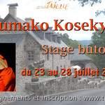 SUMAKO KOSEKI Stage Butô