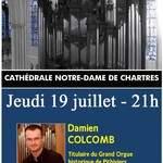 Concert d'orgue - Damien COLCOMB - Soirée Estivale 2018