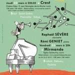 Concerts de poche : Raphaël SÉVÈRE, Rémi GENIET