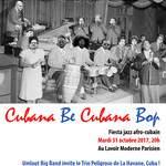 ¡ CUBANA BE CUBANA BOP ! fiesta jazz afro-cubain avec UMLAUT BIG BAND