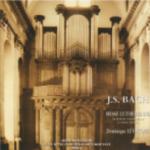 Double CD Bach par LEVACQUE Dominique (Organiste titulaire du Grand Orgue de l'INJA & Versailles)