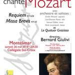 Le Choeur ADHEMAR de Montélimar chante le REQUIEM  de Mozart