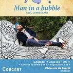 Man in a bubble