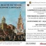 """""""THE MAGICAL LIGHT OF VENISE. Les merveilles des védutistes"""""""