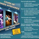 Cours de danses africaines à Aix en Provence