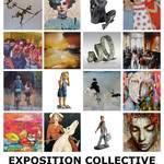 Exposition collective de fin d'année à la Galerie Laute à Rennes (35)