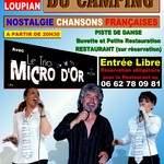 Concert dansant Gratuit chansons francaises Trio Micro d'Or
