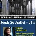 Concert d'orgue - Frédéric DESENCLOS - Soirée Estivale 2018