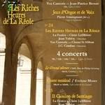 3° Festival de Musiques Anciennes de La Réole