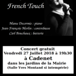 French Touch Lucie Jean Quartet