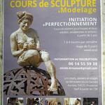 Nicole Brousse sculpteur - Stages et cours de modelage sculpture toute l'année en Provence