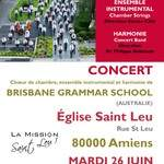Concert gratuit de la Brisbane Grammar School