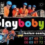La Cie des Playbobyl - Fanfare comique jouant de la musique en Rosalie