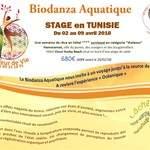 Biodanza Aquatique d'un semaine en Tunisie du 2 au 9 Avril