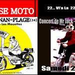 Concert de Mr Jack en Ouverture de La XXII ème Bourse Moto