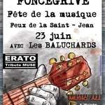 Fête de la musique & feux de la Saint-Jean