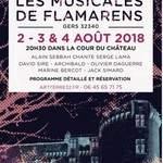 LES MUSICALES DE FLAMARENS 2018